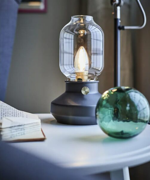 table lamp with led bulb