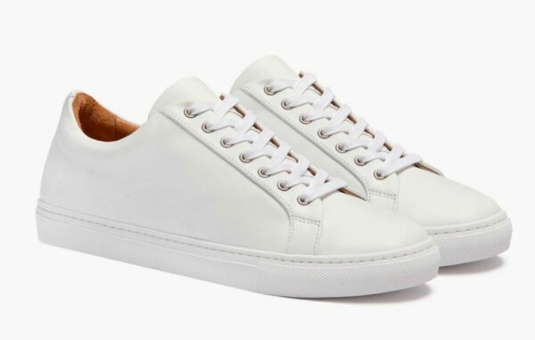 white trainer style shoes
