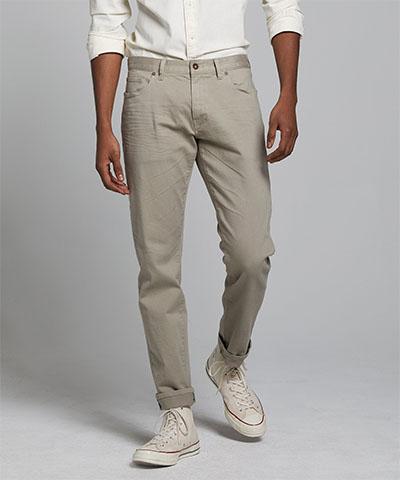 light grey chino pants slim fit