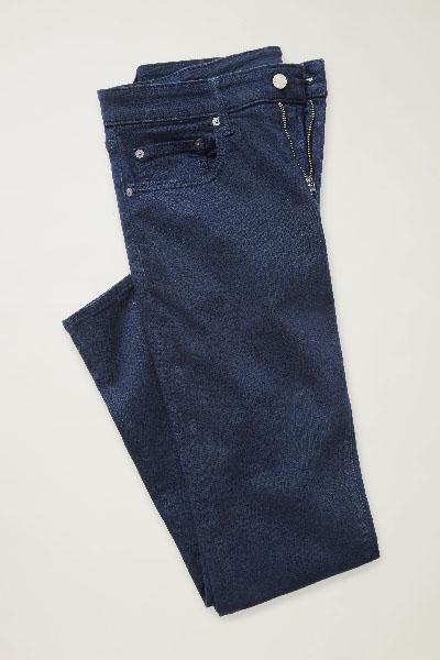 dark blue stretch jean