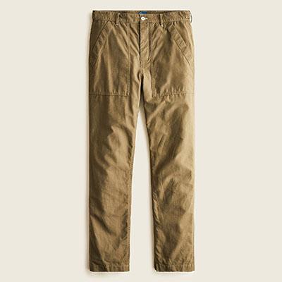 brown camp pants