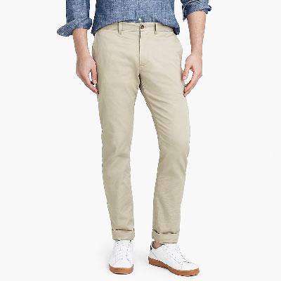 slim khaki pants