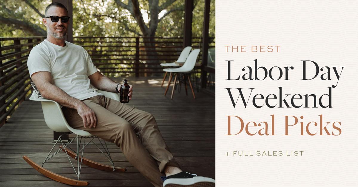best men's style Labor Day sales