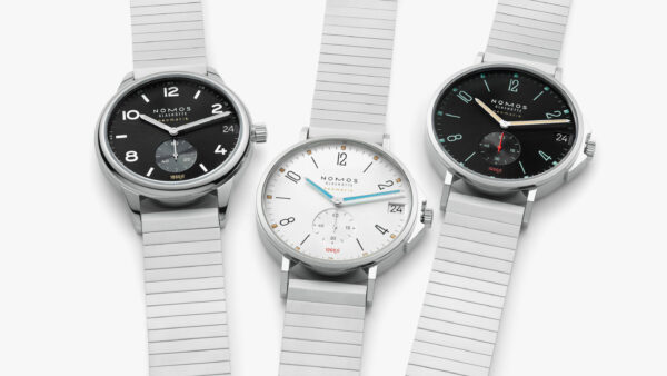 image of three watches with silver bands and dial style faces